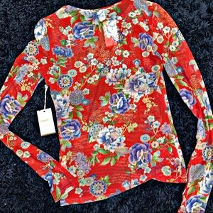 Forever 21 | Contemporary | Mesh Floral | NWT